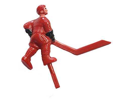 Shelti Red Angled Short Stick Bubble Dome Hockey Player