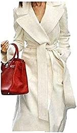 Amazon.com: White - Wool & Blends / Wool & Pea Coats: Clothing