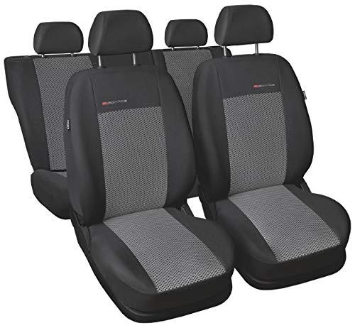 Fiat Doblo Schwarz Universal Sitzbezüge Sitzbezug Auto Schonbezüge SUPERIOR
