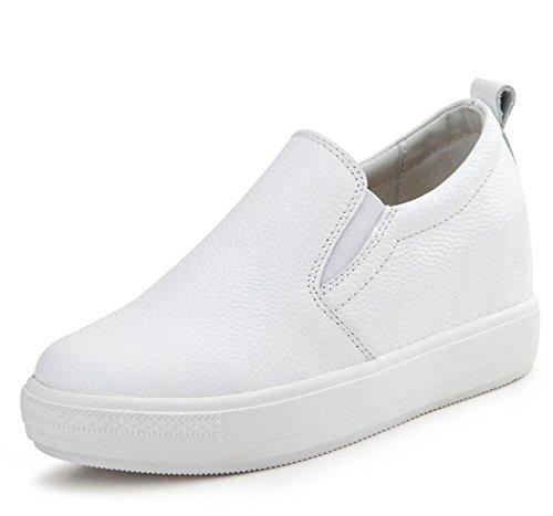Mme Spring chaussures ascenseur paresseux chaussures chaussures de sport croûte épaisse chaussures Mme , US7.5 / EU38 / UK5.5 / CN38