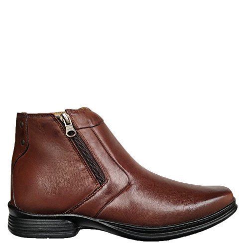 Shop Brunello's Soft Comfort Western Boot in Mahogany Brown