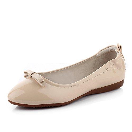 zapatos de cono del fondo plano resbalón/Ronda del dedo del pie arco primavera embarazadas B