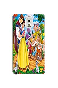 unique protection tpu skin back cover case with illustration for Samsung Galaxy note3(Snow White) by Shari Flanders