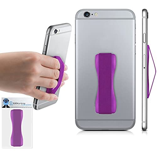 Purple Case Compatible Anti-Static Finger Elastic Grip Holder with Strong Adhesive For Samsung Galaxy S8 Plus 2017 Sales