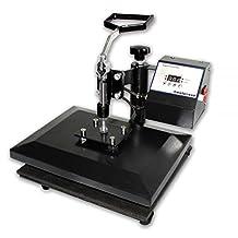 "SigntigerGentle Swing-Away Manual Heat Press 9"" x 12"" Heat Press Machine for T-shirt Digital Control 110V"