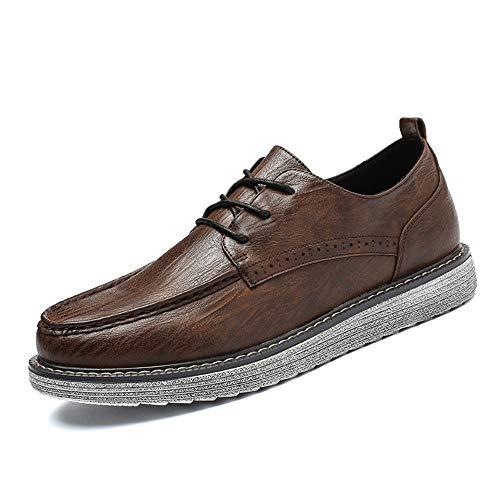2018 Jiuyue formale retro shoes semplicit da Nuova scarpa con uomo qn1FnpH