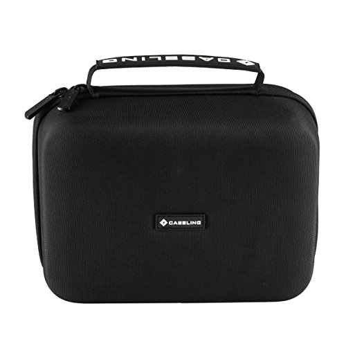 Hard CASE for Omron 10 Series Wireless Upper Arm Blood Pressure Monitor. With Mesh pocket. By Caseling