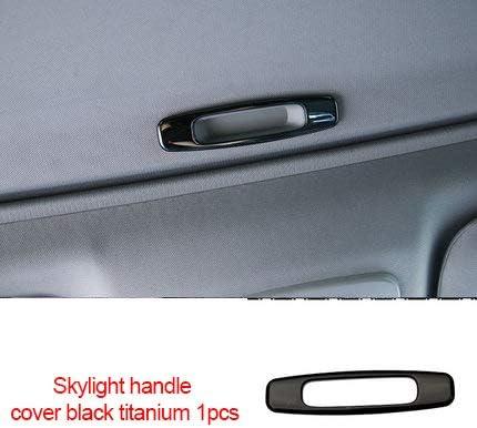 4PCS Black titanium Car Door Lock Protection Cover For Toyota Camry 2018