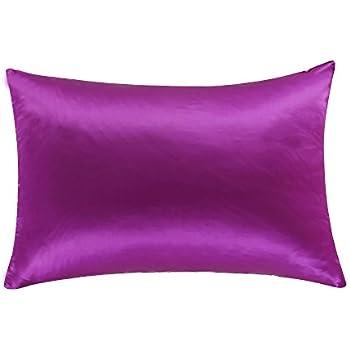 Amazon Com Oosilk Mulberry Silk Pillowcase With Hidden