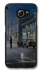 Brief Encounters Polycarbonate Hard Case Cover for Samsung S6/Samsung Galaxy S6 Black