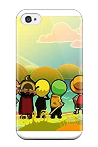 Iphone 4/4s SDjuRHF22999xeQlu Chibi Style One Piece Anime One Piece Tpu Silicone Gel Case Cover. Fits Iphone 4/4s