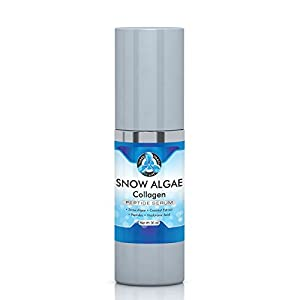 Hydrating Snow Algae Collagen Peptide Serum, Best Cosmetic Face Moisturizer for Anti-Aging | Support Wrinkle Treatment, Clinical Strength Facial Benefits – 30ML