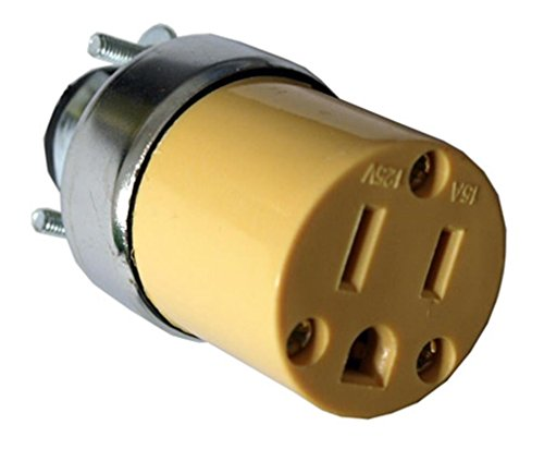 Replacement Plug Female - 10 Female Extension Cord Replacement Electrical Plugs 15AMP 125V End