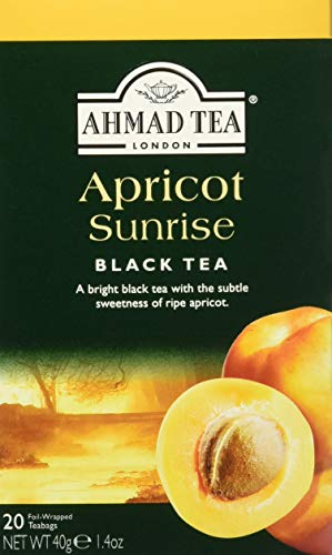 Ahmad Tea Apricot Sunrise , Tea Bags, 20-Count Boxes