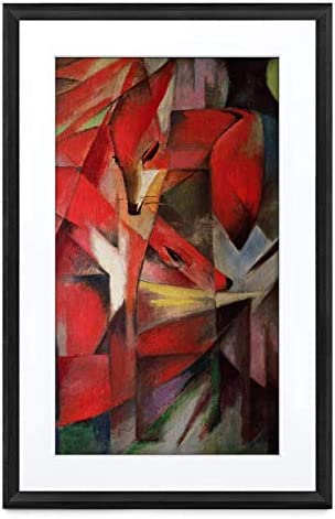 Meural Canvas II The Smart Art Frame with 21.5 in. HD Digital Canvas That Renders Images and Photography in Lifelike Detail 16X24 Black Frame WiFi-Connected Powered by NETGEAR MC321BL