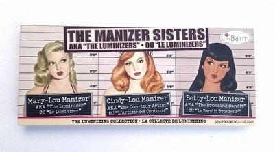 New styleThe Balm Cosmetics The Manizer Sisters Palette Review & Swatches (Size: 3, Color: Multicolor)