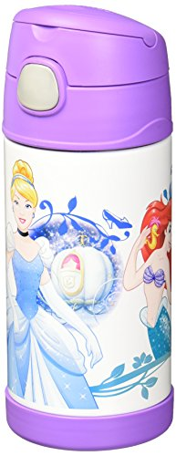 Thermos Funtainer 12 Ounce Bottle, Disney (Disney Character Image)