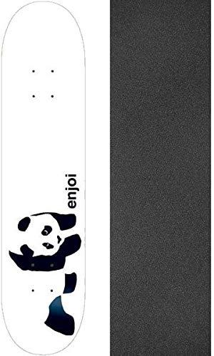 デモンストレーション拡大する統計的Enjoi Skateboards Whitey Pandaスケートボードデッキ – 7.75
