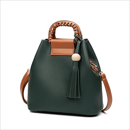 Hombro 12 Simple Semplice Green Women De 28 Spalla La Di Mrs Wild Totalizador tamaño Bolsa Sacchetto Bolso Messaggero Green Tote Cubo color Del Borsa 27 Verde Manera dimensioni Verde Dicembre colore Selvaggio Sra Cm Mensajero Delle Donne HZ46qSx