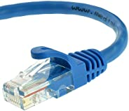 Mediabridge Ethernet Cable (25 Feet) - Supports Cat6 / Cat5e / Cat5 Standards, 550MHz, 10Gbps - RJ45 Computer