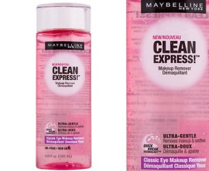 Maybelline Clean Express! Classic Eye Makeup Remover, 4 fl o