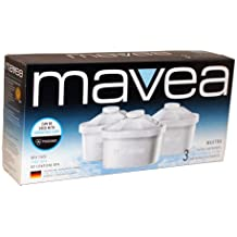 Mavea Maxtra Replacement Filters Mavea Water Filtration Pitcher Filter 3 Pack