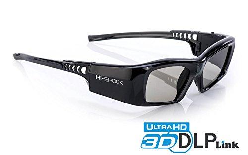 77d680f7841e Hi-SHOCK® 7G Black Diamond – DLP Pro 3D Glasses / lunettes 3D | for All  Brands DLP 3D Projectors: Acer, BenQ, Optoma, Viewsonic, Philips, LG,  Infocus, ...