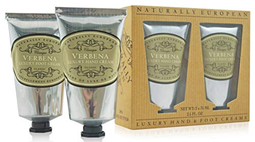 (Naturally European - Hand & Foot Cream Set - Verbena)