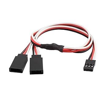 Cable Conector eDealMax M/F JST Y Splitter Para RC Modelo de ...