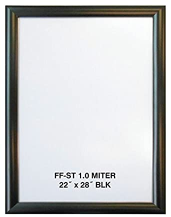 Amazon.com: 22x28 Black Aluminum Snap Frame 1.0\