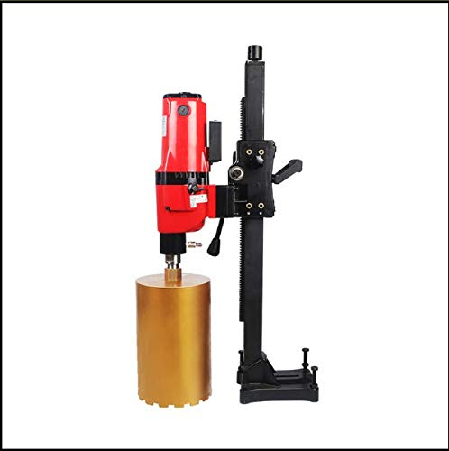 QWERTOUR Dual-Purpose Core Drill Machine for Wet Drilling Concrete Complex of Handheld and Desktop Machine 220v 50HZ 4980W 166MM