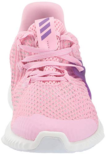 Adidas Kids Alphabounce Instinct, true pink/active purple/cloud white 1 M US Little Kid by adidas (Image #4)