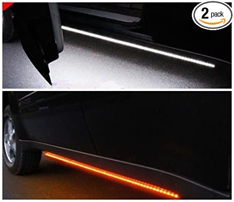 Amazon 2pc 48 inch truck light running board led kit amber 2pc 48 inch truck light running board led kit amber aloadofball Image collections