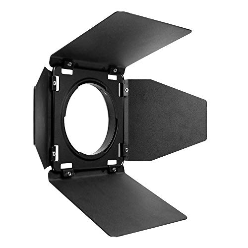 Godox BD-08 Barn Door for Godox AD400Pro All-in-One Outdoor Flash Light Speedlite with 4 Color Filters+Pergear Cloth by Godox (Image #3)