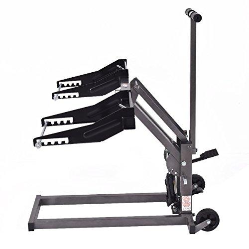 Oil Capacity Lifts Parts : Floor jack hydraulics foot pump high lift riding lawn