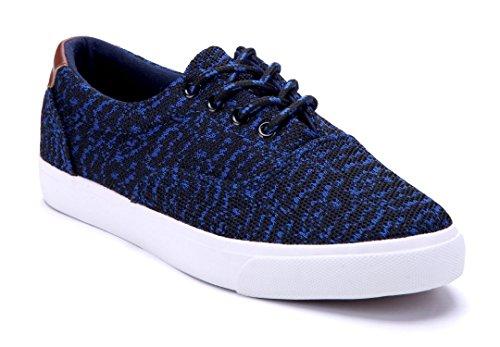 9ceccdc8078289 Schuhtempel24 Damen Schuhe Low Sneaker Flach Blau - erlebewald.de
