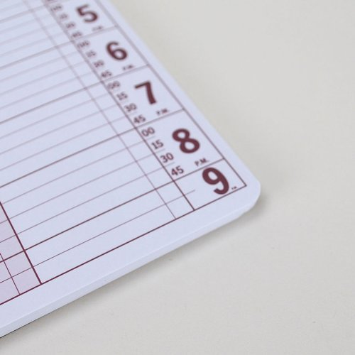 6 Column Undated Appointment Book – Six Person Daily and Hourly Schedule Notebook for Salons, Massage Spas, Hairdressers, Stylists, and More – 200 ...