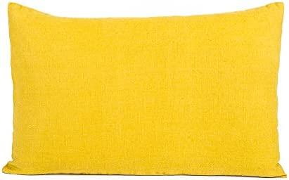 Harmony - Funda de cojín rectangular de lino Propriano - 100 ...
