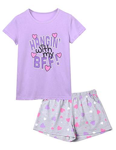 Cute Girls Pjs - Jashe BFF Pajamas for Girls -