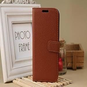 conseguir Estilo de múltiples funciones de la carpeta de la PU de cuero de la caja resistente para Samsung Galaxy S4 i9500 (colores surtidos) , Negro