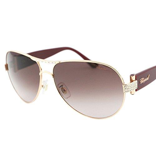 chopard-sch-866-8fc-women-gold-burgundy-red-jeweled-swarovski-aviator-sunglasses