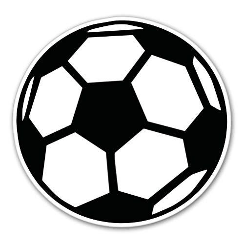 AK Wall Art Soccer Ball Vinyl Sticker - Car Phone Helmet - Select Size