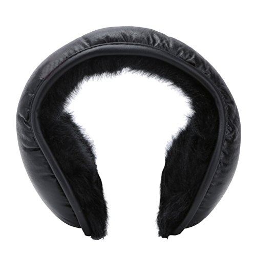 Winter Earmuffs Ear Warmers Earflap Adjustabe Wrap around Outdoor Foldable (Wrap Around Ear Warmers)