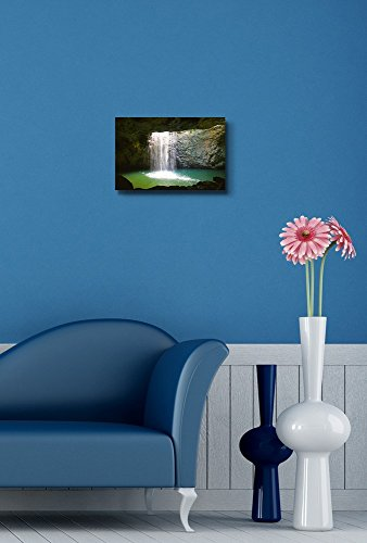 The Waterfall at Natural Arch in Springbrook National Park Australia Home Deoration Wall Decor