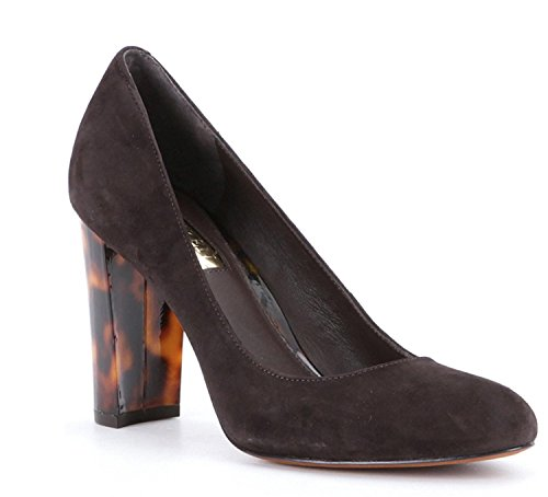 chocolate brown pumps - 4