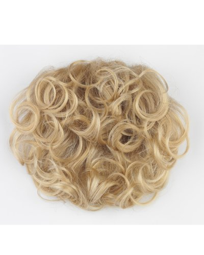 Tony of Beverly Womens Synthetic Hairpiece ''Casquette''-Caramel Kiss: 8 w/chunky gold & red ()