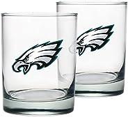 Philadelphia Eagles Rocks Glass Set