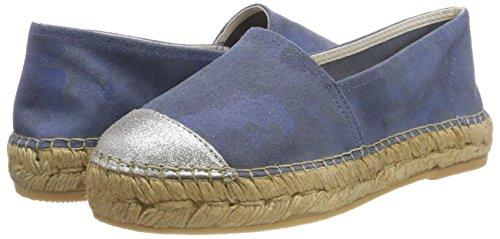 ELIS128-AM, Alpargatas para Mujer, Azul (Jeans/Plata Camuflaje Metal), 41 EU Macarena