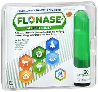 Flonase Allergy Relief Nasal Spray 60 Metered Sprays (Pack of 6) -  PPAX1414505