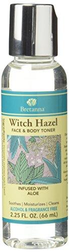 Bretanna Witch Hazel Toner Aloe, 2.25 fl oz